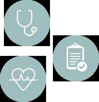 icônes santé au travail